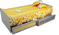 Кровать с ящиками на роликах Пионер