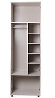 Шкаф для одежды(полки, релинг)  С , Пионер