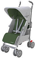 Коляска TECHNO XLR Silver/Highland Green, колір сірий/зелений