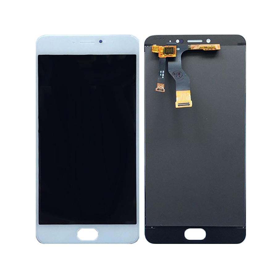 Дисплей (экран) для Meizu M3 Note (M681C) + с сенсором (тачскрином) белый