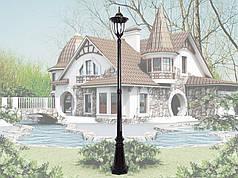 Уличный фонарь, садово-парковый, светильник