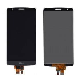 Дисплей (экран) для LG D690 G3 Stylus с сенсором (тачскрином) серый Оригинал, фото 2