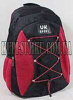 Черно-розовый Спортивный рюкзак на каждый день