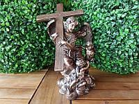 Коллекционная статуэтка Veronese Ангел держит крест WU75258A4