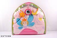 Детский игровой коврик с погремушками принцесса