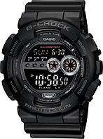 Мужские часы Casio G-Shock GD-100-1B Касио противоударные японские кварцевые