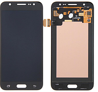 Дисплей (экран)для Samsung J200F Galaxy J2, J200G/J200H/J200Y + с сенсором (тачскрином) черный Оригинал