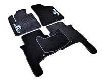 Коврики в салон ворсовые для Hyundai Santa Fe (2006-2010) /Чёрные, кт. 5шт BLCCR1235