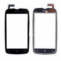 Сенсор (тачскрин) для Nokia 610 Lumia черный