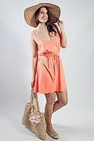 Женское платье-сарафан пляжное  летнее легкое трикотажное яркое ONLY