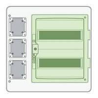 Schneider Щиток KAEDRA IP65 24мод+3отв с интерф