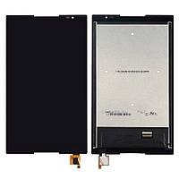 Дисплей (экран) для Lenovo S8-50F + с сенсором (тачскрином) черный