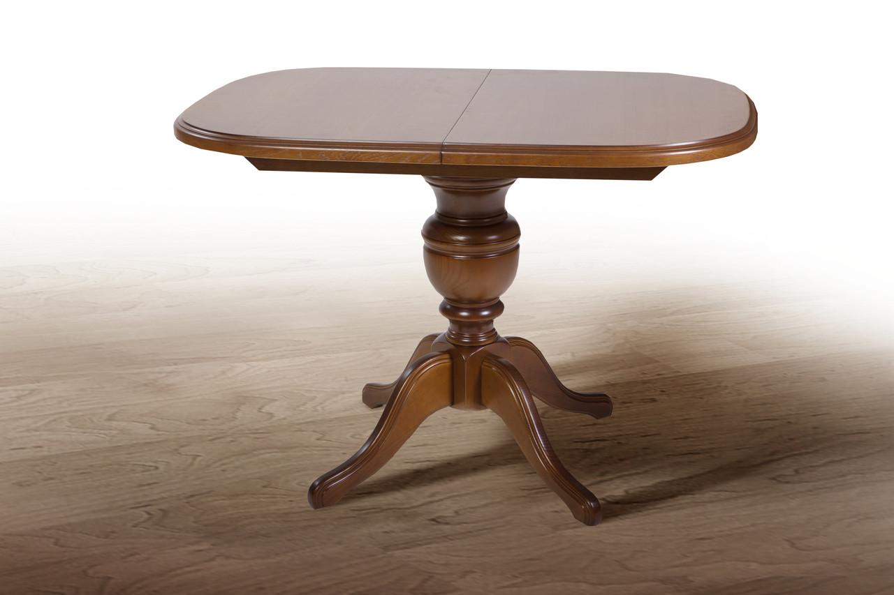 Деревянный раскладной стол Fusion Furniture Эмиль орех