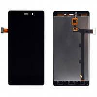 Дисплей (экран) для Fly iQ453 Quad Luminor FHD/BLU L240A/L240I + с сенсором (тачскрином) черный Оригинал