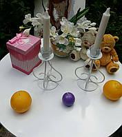 Подсвечник свадебный ПС-102 (под 1 свечу), фото 1