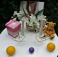 Подсвечник свадебный ПС-103 (под 1 свечу)