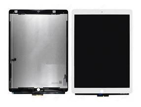 Дисплей (экран) для Apple iPad Pro 12.9  с сенсором (тачскрином) белый
