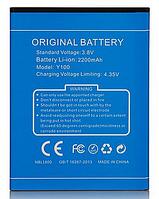 Аккумулятор (Батарея) для Doogee Valencia 2 Y100 (2200 mAh)