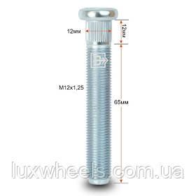 Шпилька забивная CRP120B65 M12X1,25 длина рез.части 65мм Цинк