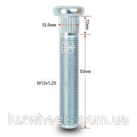 Шпилька забивная CRP120B53 M12X1,25 длина рез.части 53мм Цинк