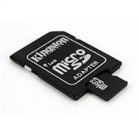 Переходник картридер Card reader карт ридер SD Card - micro sd KINGSTON