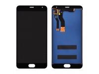 Дисплей (экран) для Meizu M1 Note Metal с сенсором (тачскрином) черный
