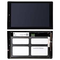 Дисплей (экран) Lenovo B8080 Yoga Tablet 10 HD Plus + с сенсором (тачскрином) черный Оригинал