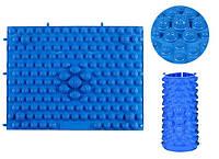 Массажный(ортопедический) коврик-пазл CS-4601-BL синий