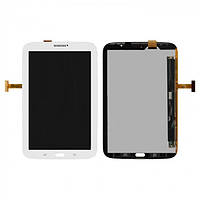 Дисплей (экран) для Samsung N5100 Galaxy Note 8.0/N5110 (версия 3G) + с сенсором (тачскрином) белый Оригинал