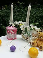Подсвечник свадебный ПС-106 (под 1 свечу)