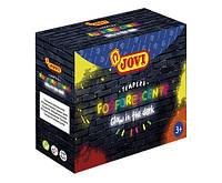 Гуашь Jovi FOSFORESCENT, 4 цвета по 55мл (504)