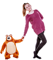 """Плюшевый медведь """"Миша"""" из мультфильма """"Маша и Медведь"""" 45 см"""