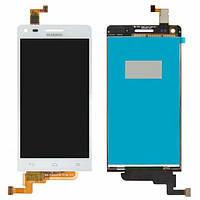 Дисплей (экран) для Huawei Ascend G6-U10 + с сенсором (тачскрином) белый
