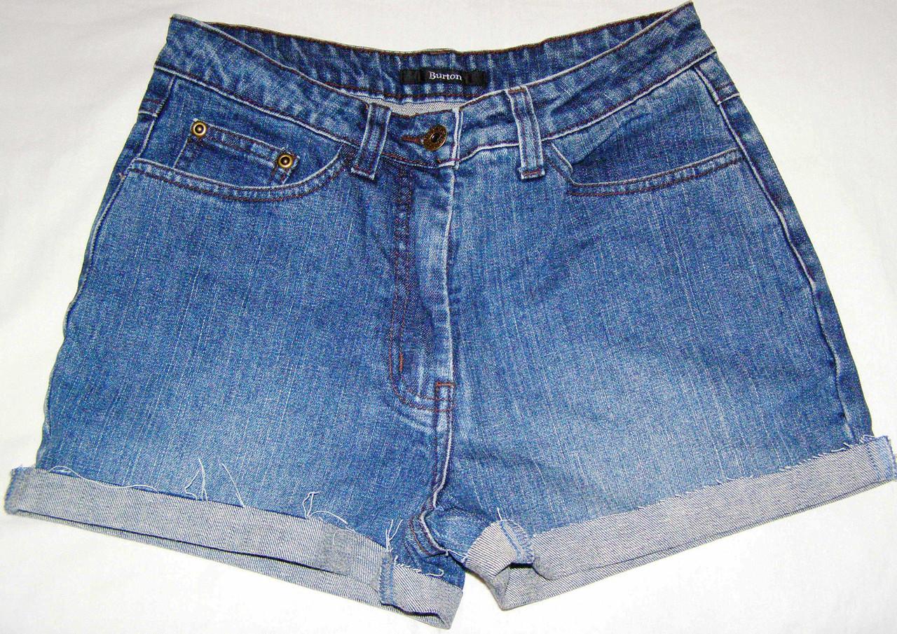 Шорты джинсовые BURTON