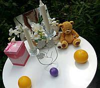 Подсвечник свадебный ПС-202 (под 2 свечи), фото 1