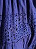 Летнее синее платье сарафан с кружевом, фото 3