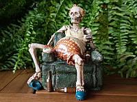 Коллекционная статуэтка Veronese Скелет у телевизора WU70363va
