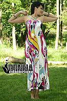 Сарафан strap 3024 - макси сарафан