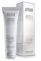 Зубная паста WhiteWash NANO отбеливающая для чувствительных зубов с гидроксиапатитом, 75 мл
