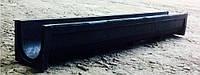 Лоток полимерпесчаный водоотводный  H135