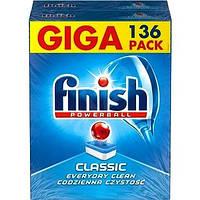 """Таблетки """"Calgonit finish classic"""" для посудомоечных машин 136 шт."""
