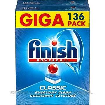 Таблетки  Finish classic для посудомоечных машин 136 шт.
