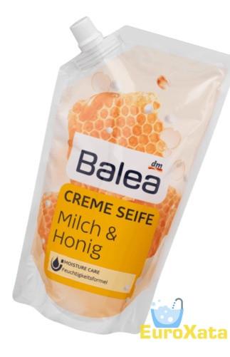 Крем-мыло (запаска) Balea Milch & Honig  (500мл)