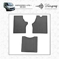 Автомобильные коврики Stingray Mercedes Vito I-W638 1996-2003