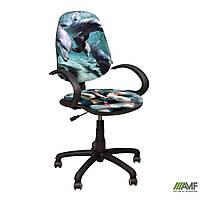 Кресло Поло 50/АМФ-5 Дизайн №5 Дельфины