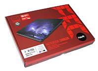 Подставка для ноутбука до 16' Havit Cooler Pad HV-F2035, Black, 2x6 см вентиляторы (15 dB, 1700 rpm), 342х250х20 мм, 700 г