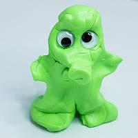 Жвачка для рук Хендгам Светло Зеленый 80г (запах лесной свежести) Украина Supergum Умный пластилин