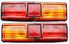 Фонари задние ВАЗ-2101,21011,21013 (Красно-желтые)(Рифленые)