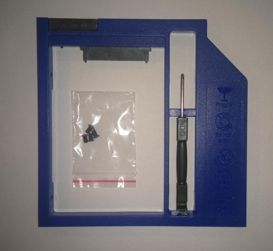 Optibay (Caddy) SATA III карман 9.5мм, HDD2.5