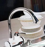 Проточный водонагреватель на кран I-HEF с большим гусаком и датчиком